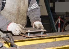 Metalworker Royalty Free Stock Photos