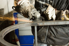 Metalworker Royalty Free Stock Image