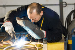 Metalworkers Royalty Free Stock Photo