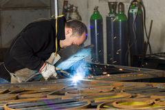 Metalworkers Stock Images