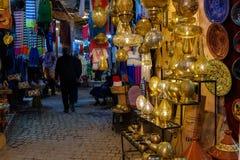 Free Metalworkers Souk At Marrakech Medina Royalty Free Stock Photo - 138729005