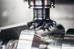 Metalworking CNC mielenia maszyna Obrazy Stock