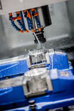 Metalworking CNC milling machine. Stock Photos