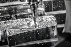 Metalworking CNC milling machine. Stock Photography