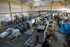Metalworking fabryki warsztat Fotografia Stock