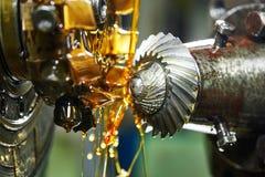 Free Metalworking: Gearwheel Machining Royalty Free Stock Photos - 62752808