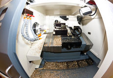 Metalworking lathe Stock Photos