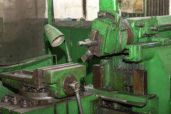 Metalworking machines working mechanisms Royalty Free Stock Photography