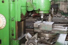 Metalworking machines working mechanisms Royalty Free Stock Photos