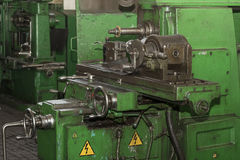 Metalworking machines working mechanisms Stock Photos