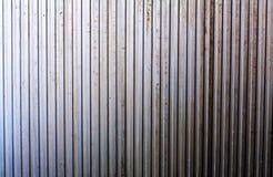 Metalzeilen. Hintergrund Stockfoto