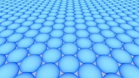Metamaterials - 2D material - Graphene vektor illustrationer