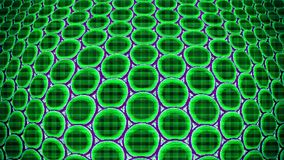 Metamaterials - 2D Materialen stock illustratie