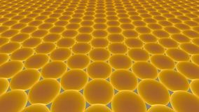 Metamaterials - 2D Materialen - Graphene vector illustratie