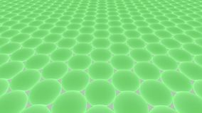 Metamaterials - 2D Materialen - Graphene royalty-vrije illustratie