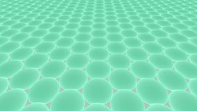 Metamaterials - 2D Materialen - Graphene stock illustratie