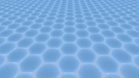Metamaterials - 2D materiali - Graphene Immagine Stock