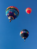 METAMORA,密执安- 2013年8月24日:热空气气球节日 免版税库存图片