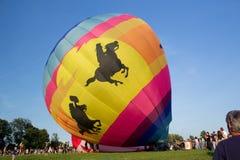 METAMORA, MICHIGAN - 24. AUGUST 2013: Heißluft-Ballon-Festival Stockbilder