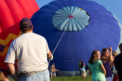 METAMORA, MICHIGAN - AUGUST 24 2013: Hot Air Ballo Royalty Free Stock Photography