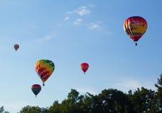 METAMORA, MICHIGAN - AUGUSTUS 24 2013: Het Festival van de hete Luchtballon Royalty-vrije Stock Afbeeldingen