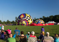 METAMORA, MICHIGAN - AUGUSTUS 24 2013: Hete Lucht Ballo Royalty-vrije Stock Afbeelding