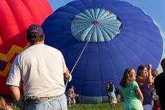 METAMORA, MICHIGAN - 24 DE AGOSTO DE 2013: Aire caliente Ballo Fotografía de archivo libre de regalías