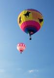 METAMORA MICHIGAN, SIERPIEŃ, - 24 2013: Gorące Powietrze Balonowy festiwal Fotografia Royalty Free