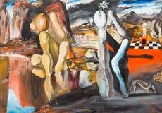 Metamorfose van Narcissen stock illustratie