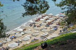 Metamorfosi park beach Stock Photography