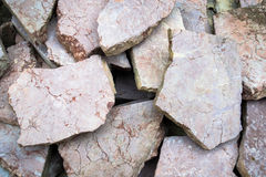 Metamorphic rock Royalty Free Stock Photography