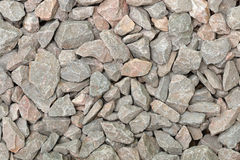 Metamorphic rock for mixing concrete Stock Images