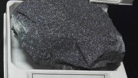 Metamorphosed quartzone graywacke sedimentary rock royalty free stock image