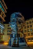 Metamorphosis Statue of Franz Kafka Prague - Czech Republic royalty free stock photos