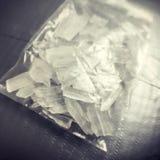 metanfetamina Fotografía de archivo