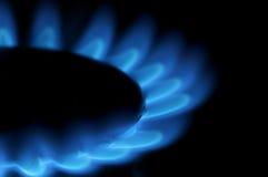 Metano del gas Fotografía de archivo