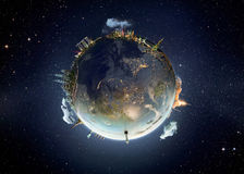 Metaphor image of our earth planet Royalty Free Stock Photo