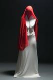 Metaphor for loneliness - faceless female dancer. Posing in studio Stock Photo