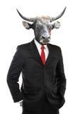 Metaphore van sterk zakenmanconcept stock afbeeldingen