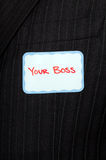 Metaphorical boss Royalty Free Stock Photo