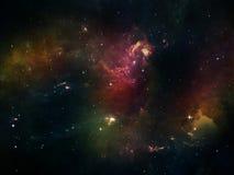 Metaphorical Space Royalty Free Stock Image