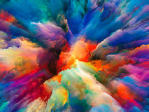 Metaphorical Surreal Paint Royalty Free Stock Images