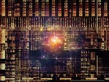 Metaphorical Technology Links Royalty Free Stock Image