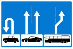 Metaphorisches Verkehrsschild Stockfotografie