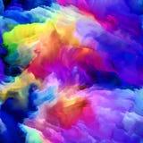Metaphorische Digital-Farbe Stockfotografie