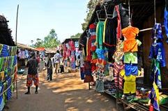 Metaricamarkt - Niassa Mozambique Royalty-vrije Stock Afbeeldingen