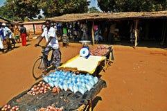 Metaricamarkt - Niassa Mozambique Royalty-vrije Stock Afbeelding