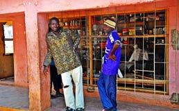 Metaricawinkel - Niassa Mozambique Stock Afbeeldingen