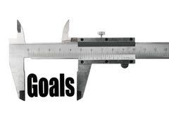 Metas de medición Foto de archivo