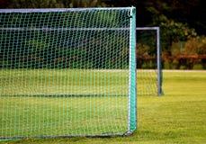 Metas del fútbol Fotos de archivo libres de regalías